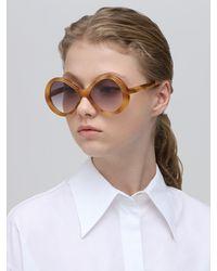 "Gafas De Sol ""Bonnie Butterfly"" De Acetato Chloé de color Multicolor"