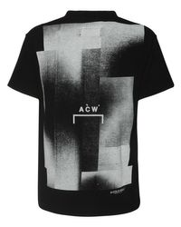 メンズ A_COLD_WALL* Graphic コットンジャージーtシャツ Black