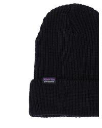 メンズ Patagonia Fisherman's ビーニー帽 Black