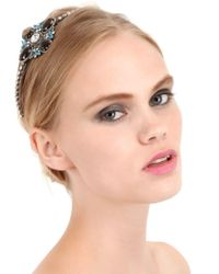Babe - Gray Victoria Collection Headband - Lyst