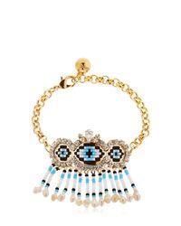 Shourouk Metallic Mambo Eye Bracelet
