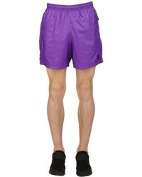 Nike - Purple Lab Heritage Track Shorts for Men - Lyst
