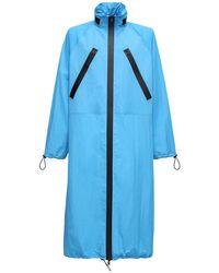 Парка Из Нейлона Bottega Veneta для него, цвет: Blue