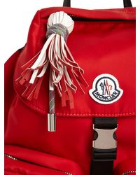 Moncler Dauphine ナイロンバックパック Red