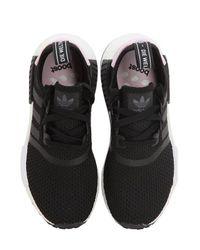 "Adidas Originals Black Sneakers ""nmd R1"""