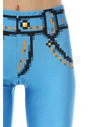 Moschino Pixel レギンス Blue
