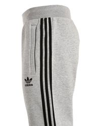 Adidas Originals Gray Curated Cotton Sweatpants for men