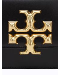 Tory Burch Black Eleanor Small Leather Shoulder Bag