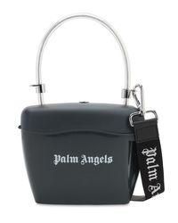 Palm Angels Black Handtasche Mit Logodruck