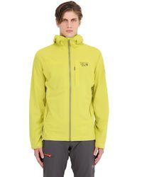 Mountain Hardwear - Yellow Stretch Ozonic Hardshell Jacket for Men - Lyst
