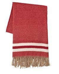 Écharpe oversize en laine effilochée DSquared² en coloris Red