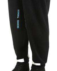 Off-White c/o Virgil Abloh Black Arrows Cotton Sweatpants for men