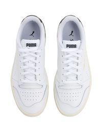 "Sneakers ""Ralph Sampson Lo Perf Soft"" Puma Select en coloris White"