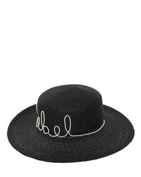 Eugenia Kim Black Colette Rebel Boater Hat