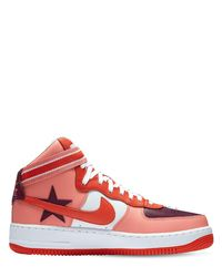 Nike Pink Riccardo Tisci Air Force 1 Hi Sneakers
