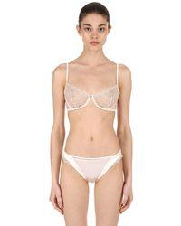 La Perla White Lace Underwire Bra
