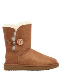 Ugg Brown Bailey Button Shearling Boots