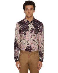 メンズ DSquared² コットンシャツ Multicolor