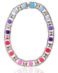 Tom Binns   Metallic Noble Savage Color Necklace   Lyst