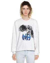 """Enfants Riches Deprimes Sweatshirt Aus Baumwolle """"n.a. Stone"""" in White für Herren"""