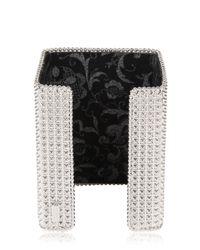 Bisou Bijoux - Metallic Big Square Cuff Bracelet - Lyst