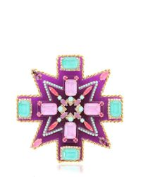 Erickson Beamon | Multicolor Girls On Film Pin | Lyst