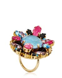 Erickson Beamon Purple Girls On Film Ring