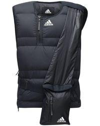 メンズ Adidas Originals Cold.rdy ナイロンリップストップダウンベスト Black