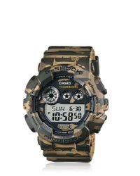 G-Shock | Natural Absolute Green Camouflage Digital Watch for Men | Lyst