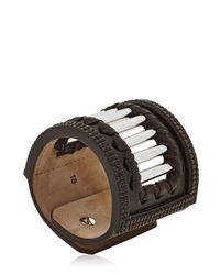 Petteri Hemmilä - Black Cage Bracelet - Lyst