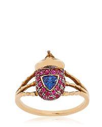 Daniela Villegas | Blue Atum Midi-finger Ring | Lyst