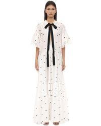 Платье Из Хлопка И Льна Lug Von Siga, цвет: White