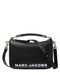 Кожаная Сумка The Soft Box 23 Marc Jacobs, цвет: Black