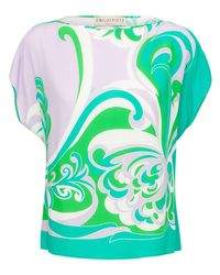Emilio Pucci Sustainable トップ Green