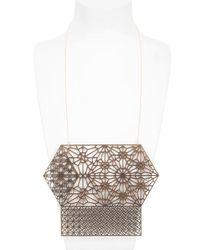 Lotocoho - Metallic Alhambra Combo Pendant Necklace I - Lyst
