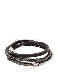 Tomasz Donocik | Black Super Diamond Stars Bracelet | Lyst
