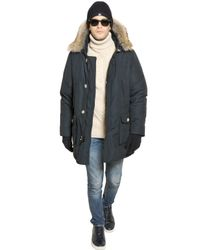 Woolrich - Blue Ramar Nylon Arctic Parka for Men - Lyst