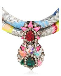 Shourouk - Multicolor Double Zulunecklace - Lyst