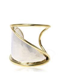 Anndra Neen   Metallic Horizon Cuff Bracelet   Lyst