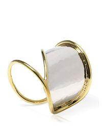 Anndra Neen - Metallic Horizon Cuff Bracelet - Lyst