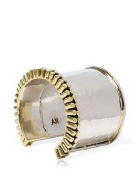 Anndra Neen - Metallic Chime Cuff Bracelet - Lyst