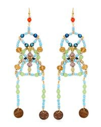 Anita Quansah London Multicolor Sia Earrings