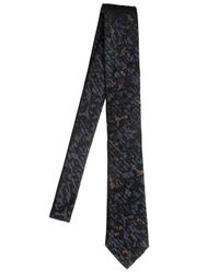 Title Of Work | Black 6.5cm Hand-beaded Silk Jacquard Tie for Men | Lyst