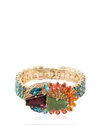 Anton Heunis | Metallic Crystal Cluster Bracelet | Lyst