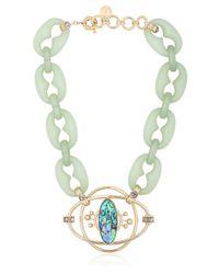 Valentina Brugnatelli | Green Isabella Necklace | Lyst