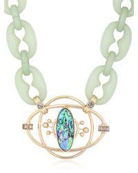 Valentina Brugnatelli - Green Isabella Necklace - Lyst