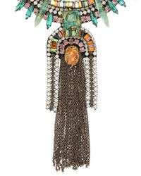 Deepa Gurnani | Green Fiesta Bonita Necklace | Lyst