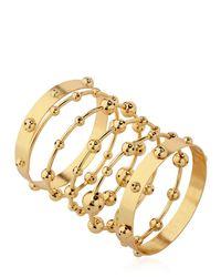 Paula Mendoza | Metallic Ara Bracelet | Lyst