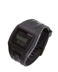 Nixon Black The Lodown Ii Digital Watch for men
