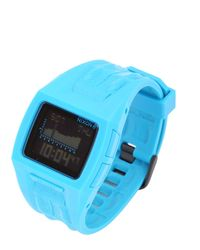 Nixon Blue The Lodown Ii Digital Watch for men